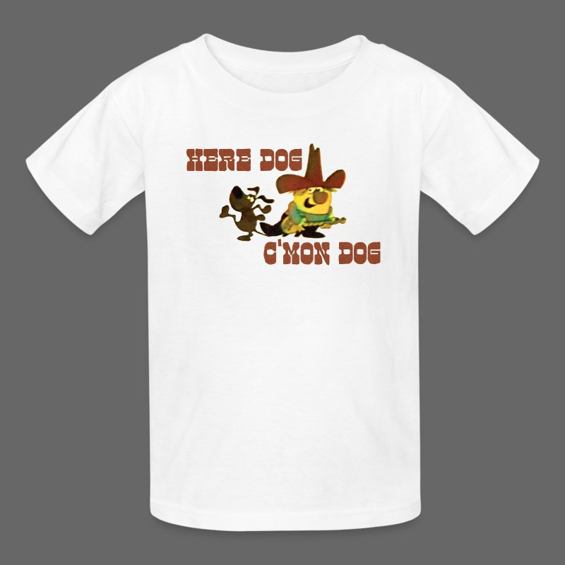 Here Dog, C'mon Dog - Kids' T-Shirt