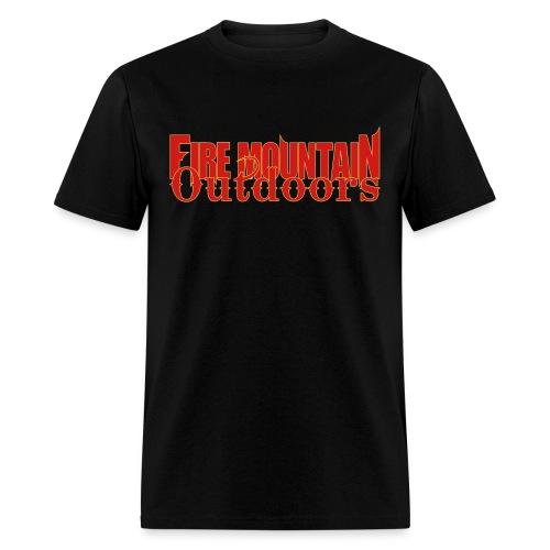 fire mountain - Men's T-Shirt