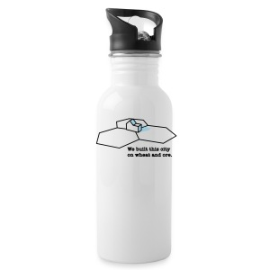 We Built This City - Water Bottle
