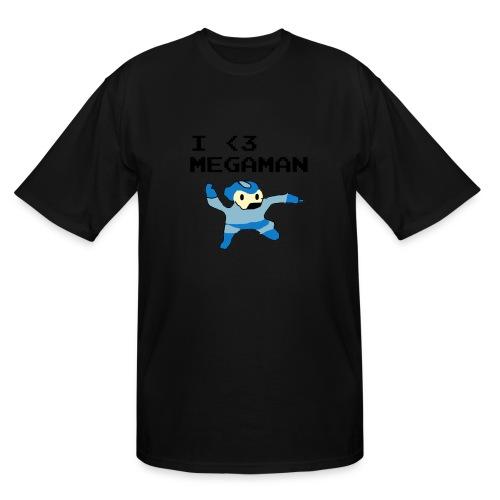 I Love Megaman Shirt - Men's Tall T-Shirt