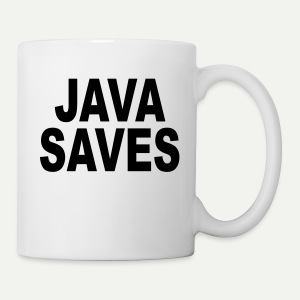 Java Saves - Coffee/Tea Mug