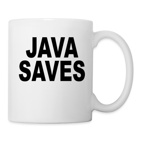 Java Saves - Coffee/Tea Mug