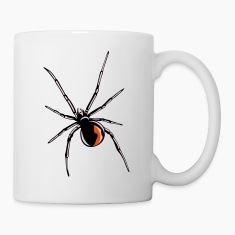 Black widow spider Bottles & Mugs