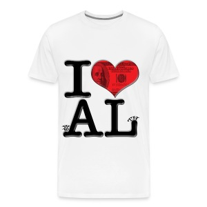 I Love AL - weALth - Men's Premium T-Shirt