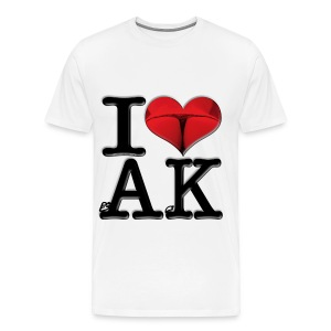 I Love AK - crAcK - Men's Premium T-Shirt