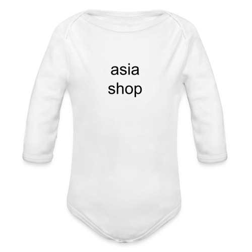 shirt - Organic Long Sleeve Baby Bodysuit