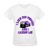 Women's T-Shirts ~ Women's T-Shirt ~ I Like Big Trucks Tshirt