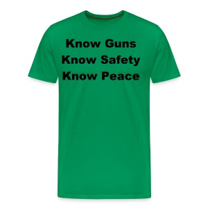 Know Guns (Front Only) - Men's Premium T-Shirt