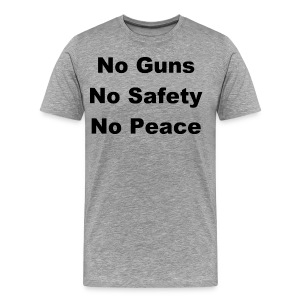 No Guns / Know Guns - Men's Premium T-Shirt