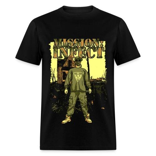 INFECT SOLDIER TEE - Men's T-Shirt