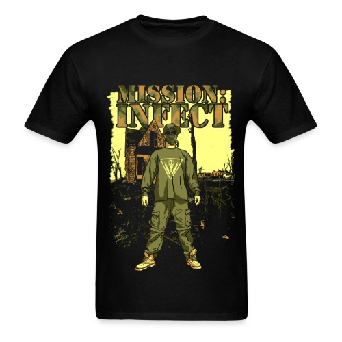 INFECT SOLDIER TEE - Men's T-Shirt