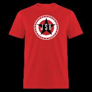 T-Shirts ~ Men's T-Shirt ~ JSH Logo #13-bw