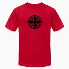 Four blessings, Chinese Good Luck Symbol, Charms T-Shirts