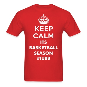 Keep Calm its basketball Season - Men's T-Shirt