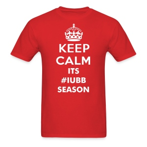 Keep Calm its #IUBB Season - Men's T-Shirt