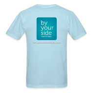 T-Shirts ~ Men's T-Shirt ~ Men's Standard Weight T-Shirt - By Your Side logo