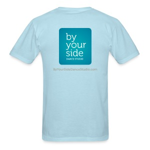 Men's Standard Weight T-Shirt - By Your Side logo - Men's T-Shirt