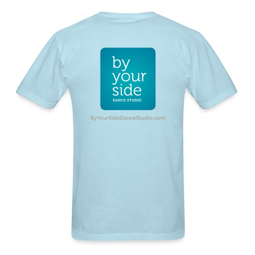 Men's Standard Weight T-Shirt - By Your Side logo - Men's T-Shirt