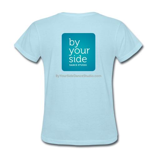 Women's Standard Weight T-shirt - By Your Side  - Women's T-Shirt