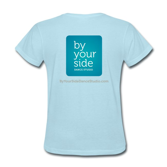 Women's Standard Weight T-shirt - By Your Side