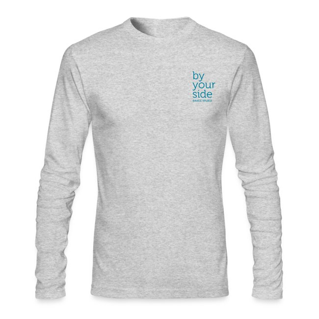 Men's Long Sleeve T-Shirt - By Your Side logo