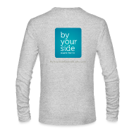 Long Sleeve Shirts ~ Men's Long Sleeve T-Shirt by Next Level ~ Men's Long Sleeve T-Shirt - By Your Side logo