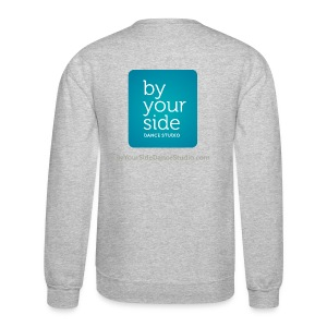 Men's Crewneck Sweatshirt - By Your Side logo - Crewneck Sweatshirt