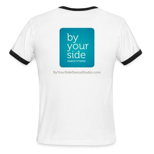 Men's Ringer T-Shirt - By Your Side logo - Men's Ringer T-Shirt