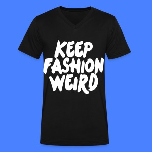 Keep Fashion Weird T-Shirts - Men's V-Neck T-Shirt by Canvas
