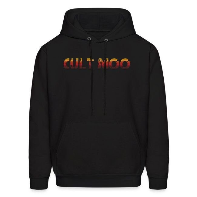 Cult Moo Retro Orange Logo Hoodie