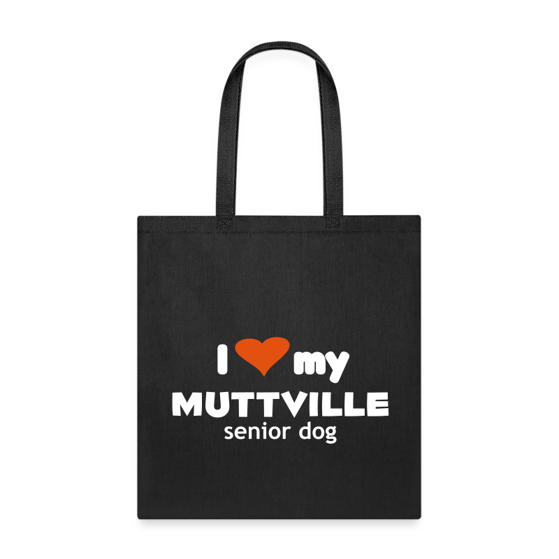 I love my Muttville senior dog tote bag - Tote Bag