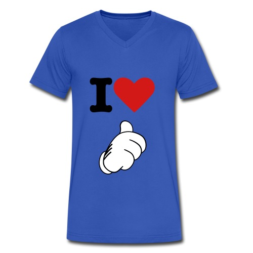 I love me - Men's V-Neck T-Shirt by Canvas