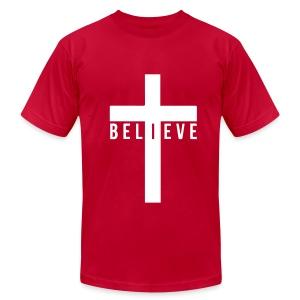 I Believe Men's Shirt  - Men's Fine Jersey T-Shirt