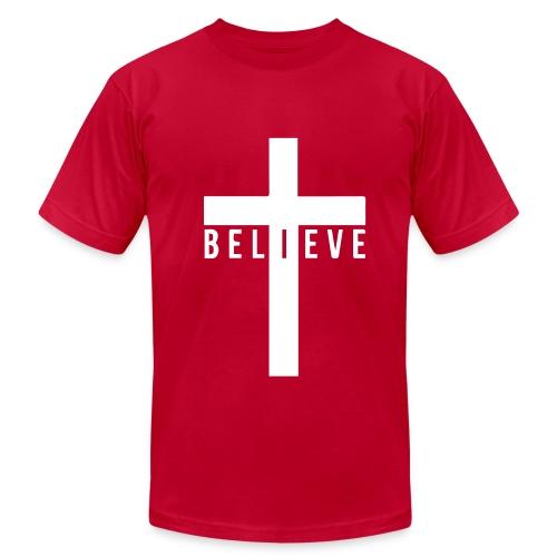I Believe Men's Shirt  - Men's  Jersey T-Shirt