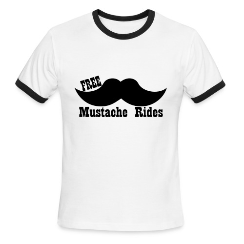 Mustache - Men's Ringer T-Shirt
