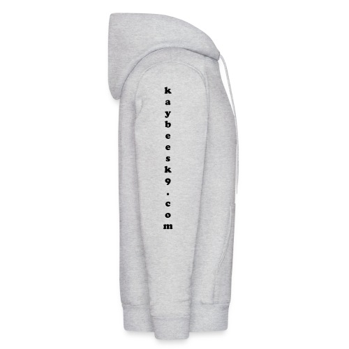 Men's Hoodie - For our floppy eared friends - design drawn from a photo of Bow.