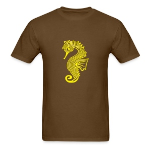 men's standard weight shirt seahorse  - Men's T-Shirt