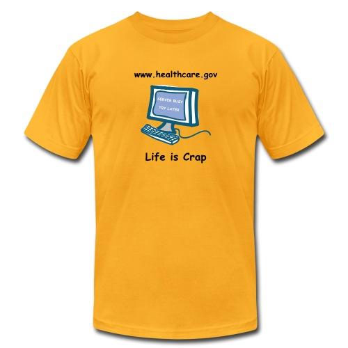 Healthcare.gov Server Busy - Men's T-shirt by American Apparel - Men's Fine Jersey T-Shirt