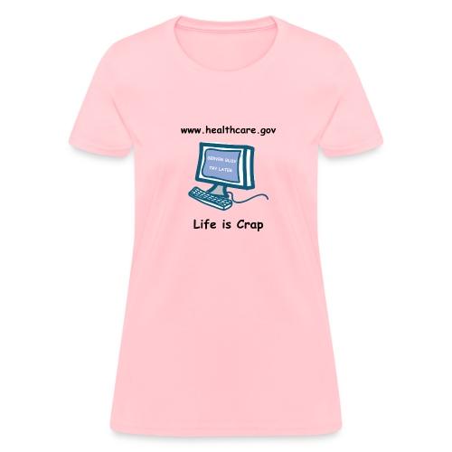 Healthcare.gov Server Busy - Women's Classic T-shirt - Women's T-Shirt
