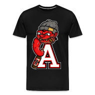 T-Shirts ~ Men's Premium T-Shirt ~ The Deluxe Brawler Tee in Bred