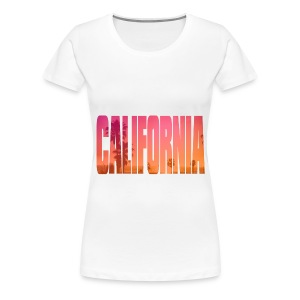 Women's California T-Shirt - Women's Premium T-Shirt