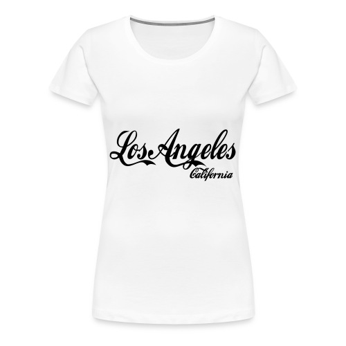 Women's LA T-Shirt - Women's Premium T-Shirt