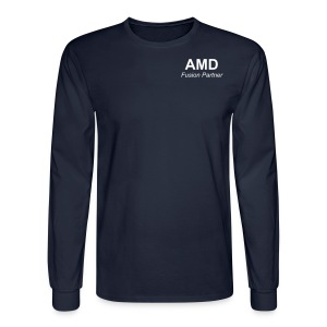 AMD Fusion Partner - Professional long sleeve brown dress T - Men's Long Sleeve T-Shirt