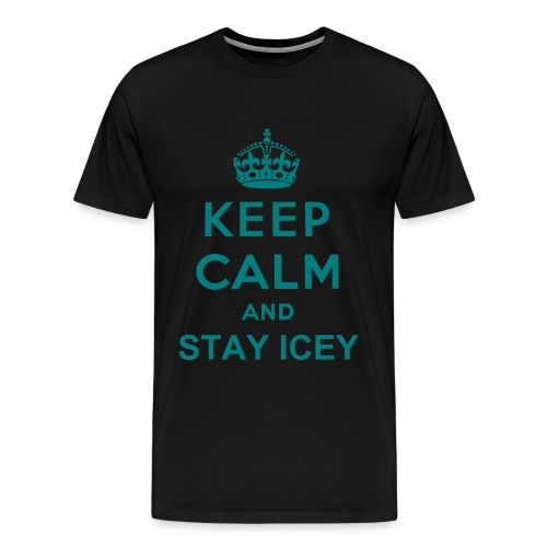 Mens Keep Calm Tee - Men's Premium T-Shirt