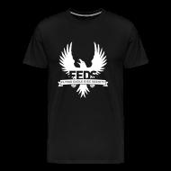 T-Shirts ~ Men's Premium T-Shirt ~ Men's Premium T-Shirt - White Logo