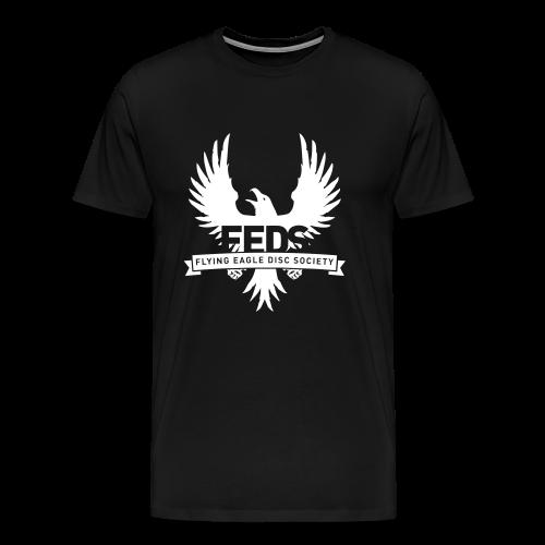 Men's Premium T-Shirt - White Logo - Men's Premium T-Shirt