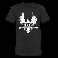 T-Shirts ~ Unisex Tri-Blend T-Shirt ~ Men's Tri-Blend Vintage T-Shirt - White Logo