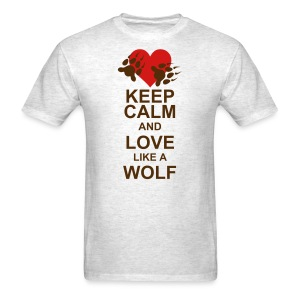 Love Like A Wolf - Lost Girl - Men's T-Shirt