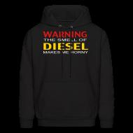 Hoodies ~ Men's Hoodie ~ The Smell Of Diesel