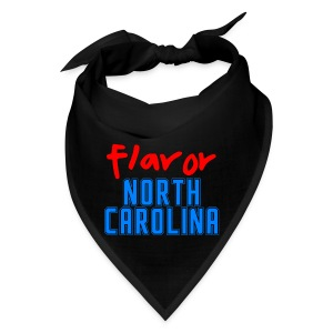 STATE YOUR FLAVOR BANDANA BLACK: NORTH CAROLINA - Bandana